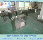 Segurança em aço inoxidável controle de acesso catraca tripé