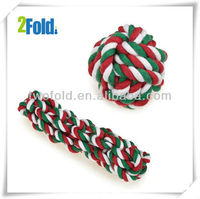 Cotten Rope Knot Christmas Ball