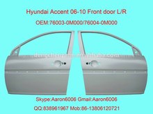 hyundai accent 06 puerta frontal
