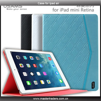 2014 Fashion USAMS Forest Series Flip Leather Case for Ipad mini MT-1867
