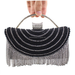 crystal beads evening bags