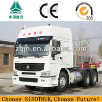 howo 6x4 371HP China Famous Brand big prime mover