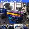 Good performance ldpe pe pp plastic granulating recycling