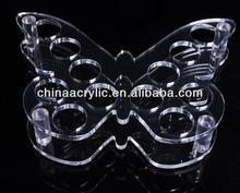 Butterfly Shape Acrylic Coffee Cup Organizer