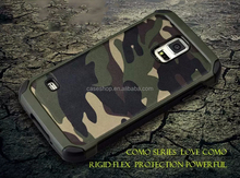 Fashion camouflage armor Rugged Hard Case Cover For Samsung Galaxy S5 E5 E7 A5 A8