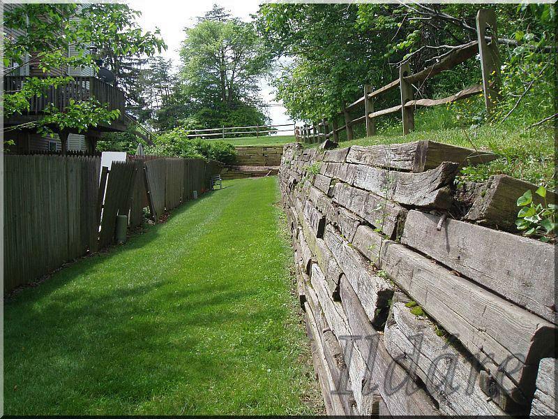 vieux bois mur de sout nement autres fournitures jardin id du produit 141193977. Black Bedroom Furniture Sets. Home Design Ideas