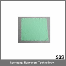 microfiber glasses cleaning cloth with saw cutting edge