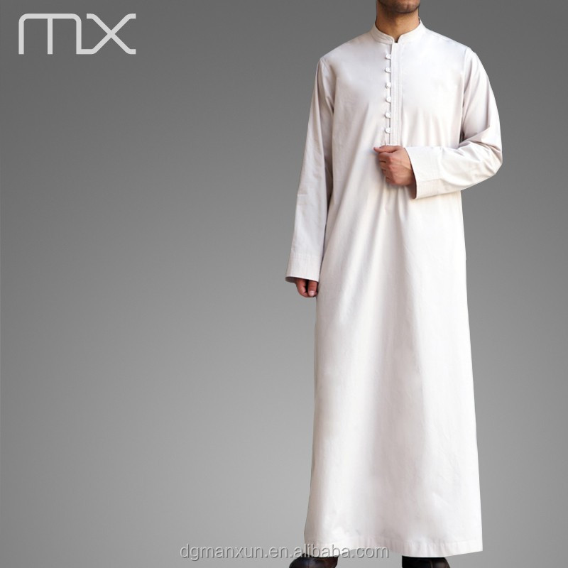 Men Saudi Style Abaya Islamic Clothing Design in Dubai  New Thobe Caftan 2016 (1).jpg