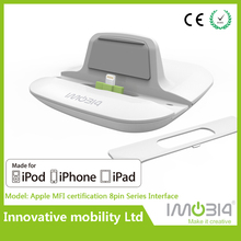 For iPhone 5/5c/5s/6/6 plus/iPad/iPod MFI Desktop Charger Cradle, Docking station, Charging dock