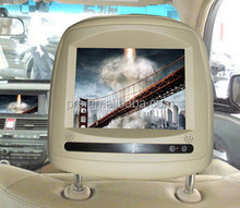 HD 1080P Car Headrest Monitor DVD with multi touch screen from china mainland