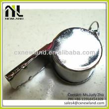 2013 HOT custom print whistle metal wholesale whistle