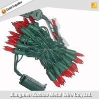 Green Wire Holiday Time Christmas Lights Best-Selling