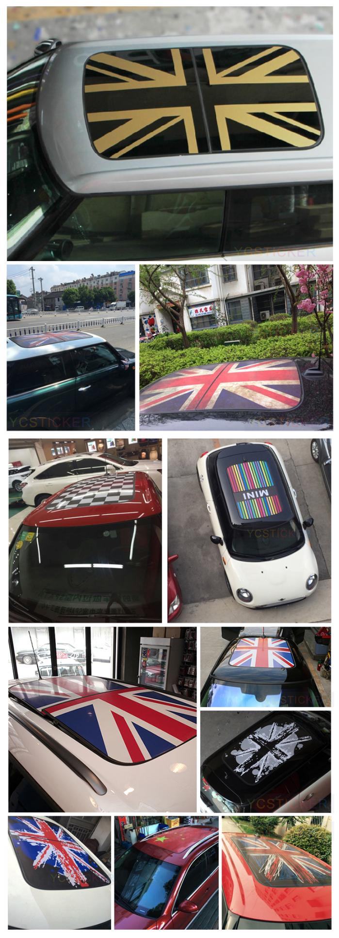nouveaux produits voiture panoramique toit pvc auto adh sif vinyle autocollant camouflage. Black Bedroom Furniture Sets. Home Design Ideas