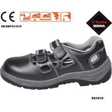 Steel toe cap sandal safety shoes