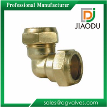 Durable professional factory price copper easy installation pn16 2 4 5 1 2 inch copper and brass compression conex fittings