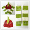 cheap 2 sets knitted baby costumes,baby costume sets