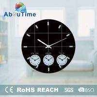 promotional quartz price alarm round wall clock