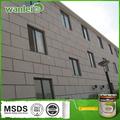 Vários estilos não-poluição casa decoração da parede exterior