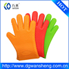 Food grade silicone glove for grill bbq glove heat resistant silicone oven mitt set