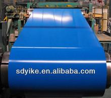 Couleur de bobine/GI chaud plonge galvanise acier bobine bleu ciel galvanise (PPGI/PPGL) (ISO9001:14001 ; BV ; SGS) yike sur ali