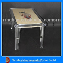 Customized pattern making acrylic glass nesting table