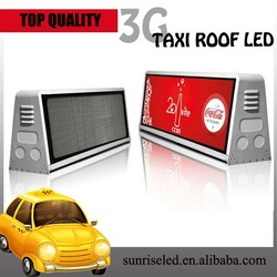 new products taxi roof top advertising signs, taxi top advertising, taxi top led display
