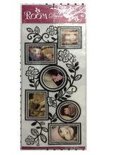 Customized hot sale transparent plastic sticker sheet gems