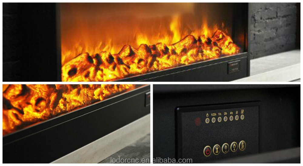 1800mm Imitation Fireplace With Artificial Fireplace