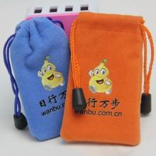 Multifunctional Velvet Drawstring Small Bag For USB +Key+Jewelry