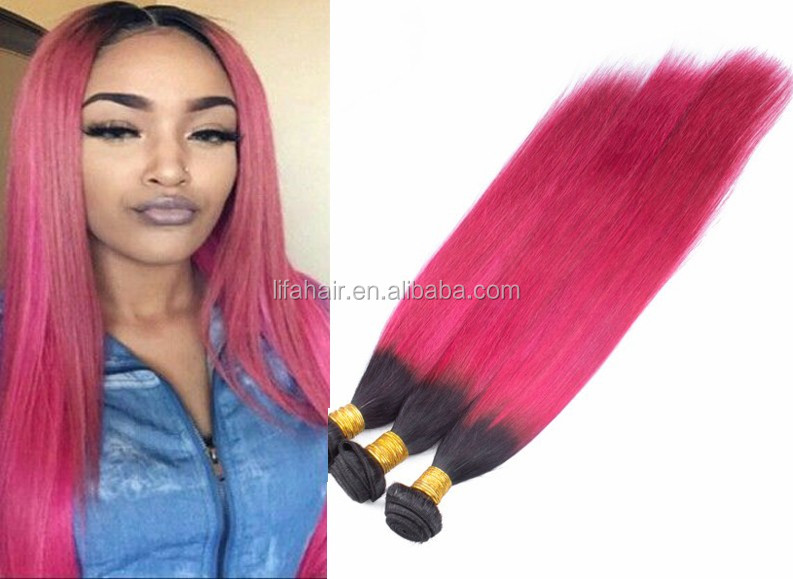 Can Be Dyed Pink Weave Hair 100unprocessed Virgin Hair With Large