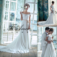 TH-5801J simple but elegant 2015 latest dress designs wedding bridal dress patterns