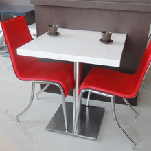 KKR modern design high gloss new hot pot table restaurant