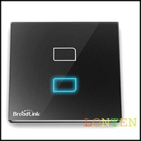 Broadlink tc1 wireless walls light remote control switch single biswitch with Touch Button smart home automation