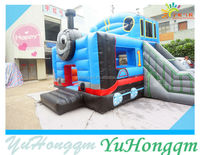 2014 New Design Hot Train Inflatable Bouncer Combo/ Bouncy Castle/ Bounce House Jumper for Kids Play