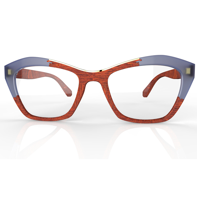 custom acetate wood eyewear glasses eyeglasses spectacle