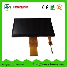 Standard 800x480 touch screen 7 inch tft lcd module with rgb interface