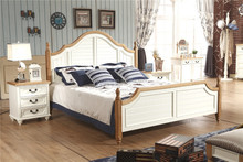 bedroom furniture set in high gloss painting 2015 antique style