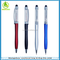 High quality cute stylus touch pen with thermometer for iphone/ipad