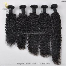 NO SHEDDING !!NO TANGLE Raw Unprocesse Jerry Curl Hair Weft Brazilian Virgin Hair
