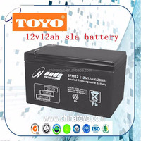 rechargeable 6v12ah AGM solar storage battery for toys and consumer equipment