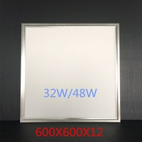 Aluminum alloy led panel light 60 60