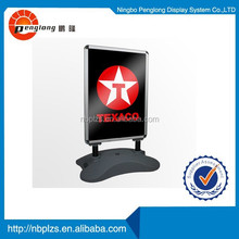 wind resistant pavement sign outdoor water base A1 advertising board