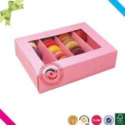 Dongguan hot sale fancy kids snack packaging snack box