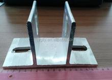 Aluminium profile corner joint and aluminum profile accessory for solar panel mounting brackets