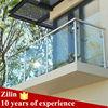 Free design stainless steel frameless glass balcony balustrade for safety