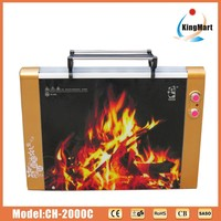 fireplace heater electric CH-2000C hot sales in Euro