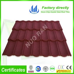 good sale colorful stone coated steel roofing tile material/roof tiles for Sri Lanka/Galvalume Steel Sheet