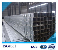 annealed square hollow section/black iron pipe properties/hollow rectangular steel tube