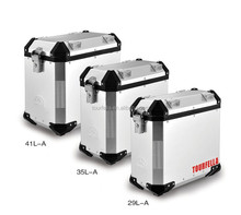 Aluminum alloy 41L/35L/29L motorcycle cargo box pro-dual lock system