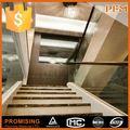 Super luxo villa decorativo ferro forjado escada interior trilhos